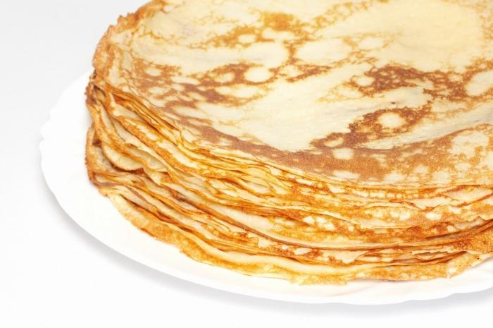 Delicious pancakes with milk. Recipe from moms and grandmothers