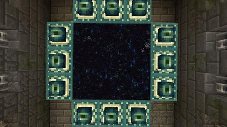 Details on how to build a portal in the Ender World