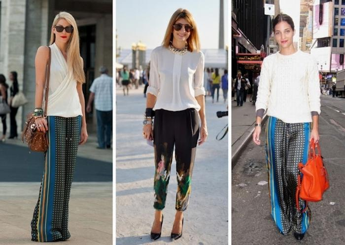 Summer trousers: the icon of manly femininity