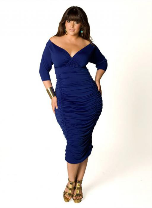 Dresses for fat women at the celebration: the best styles