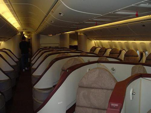 The layout of the Boeing 777-300ER: the best seats on the plane